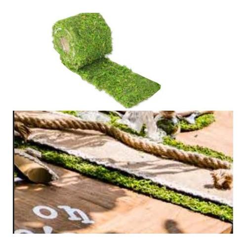 Chemin de table mousse naturelle