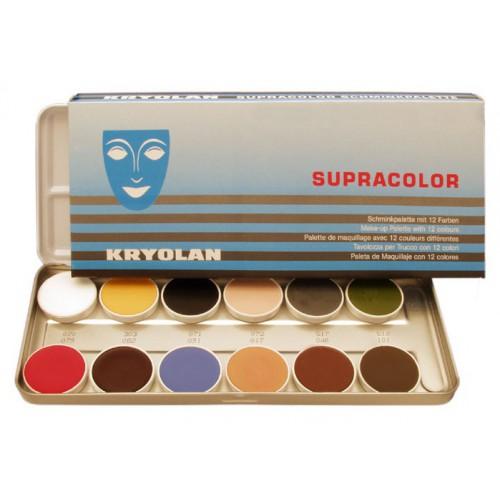 Palette fard gras 12 couleurs