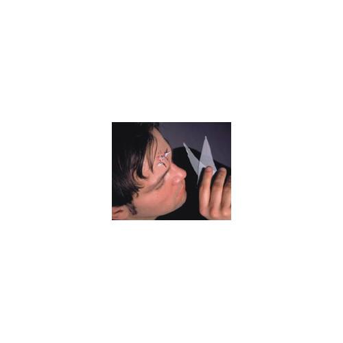 Prothèse éclats de verre