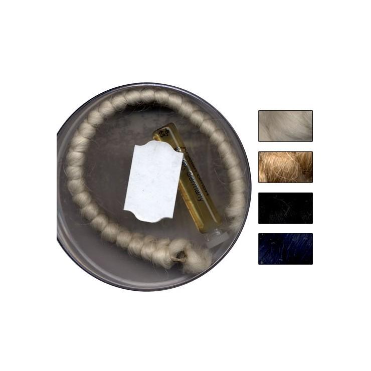 Crêpe de laine pour confection de postiches