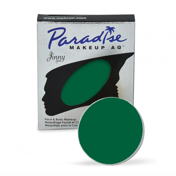 Recharge vert foncé Mehron Paradise makeup AQ