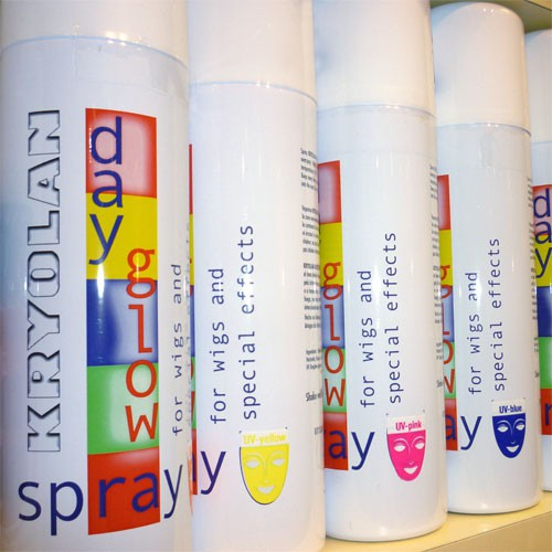 Laque colorante professionnelle UV fluo