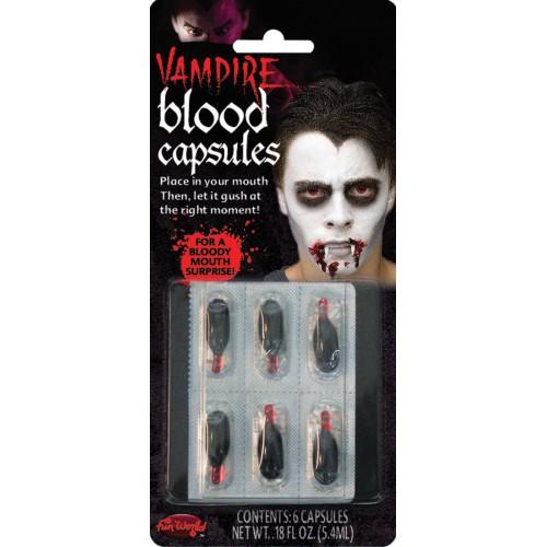 Capsules de sang liquide x6