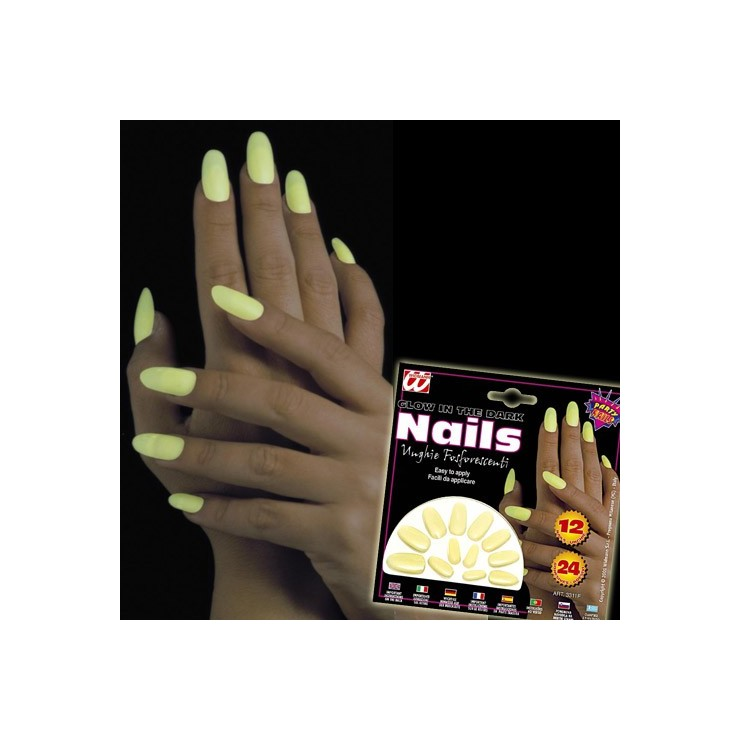 Ongles Glow In The Dark