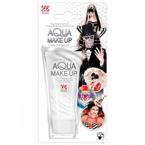 Maquillage à l'eau blanc
