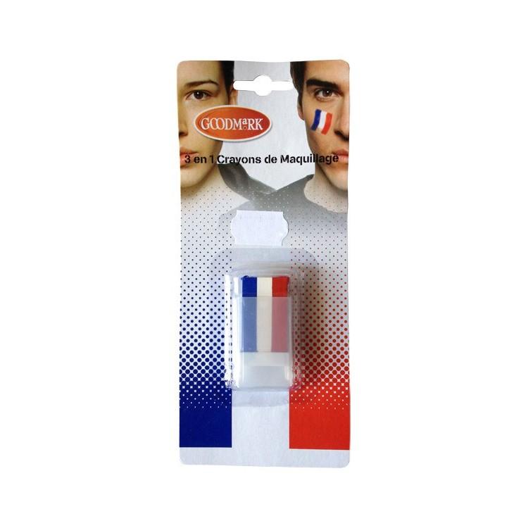 Stick Maquillage Bleu Blanc Rouge