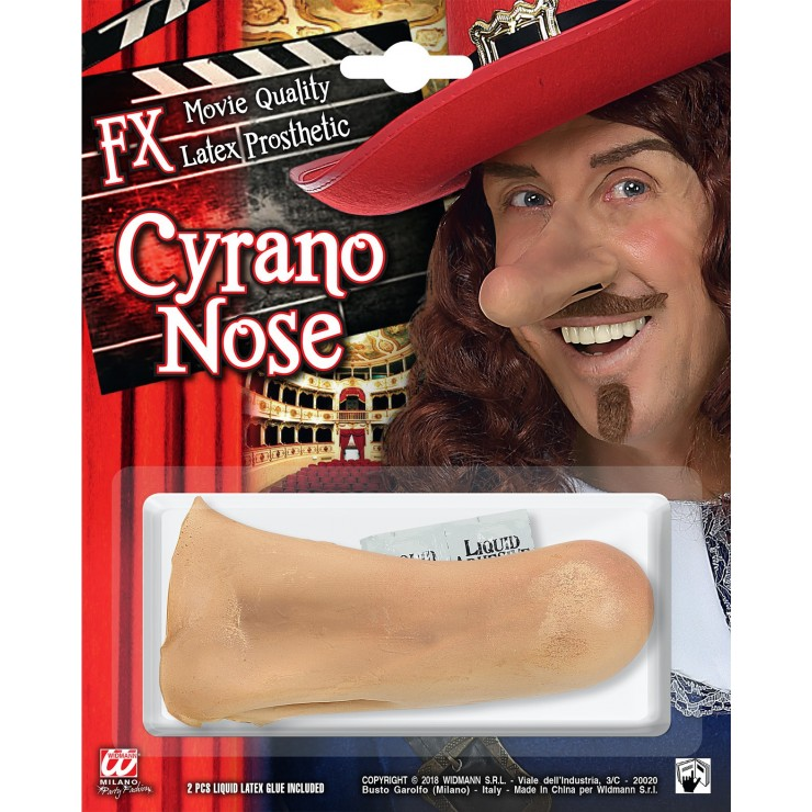 Prothèse nez de cyrano