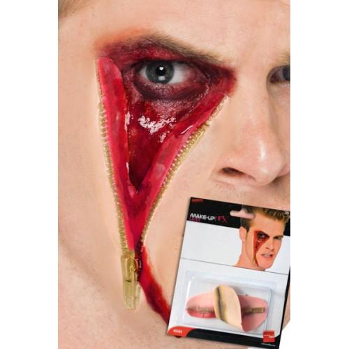 Prothèse zip scar face