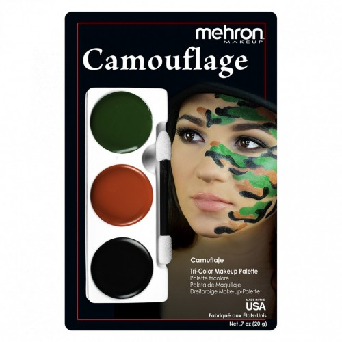 Tri-Color Makeup Palette - Camouflage