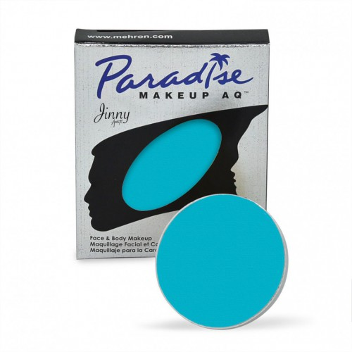 Recharge turquoise Mehron Paradise makeup AQ