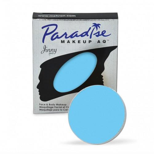 Recharge bleu clair Mehron Paradise makeup AQ
