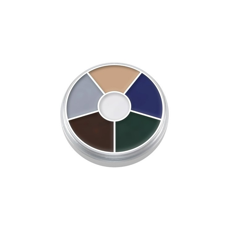 Kryolan Cream Color Circle Zombie