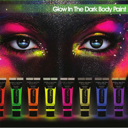 Tube maquillage fluo + phospho