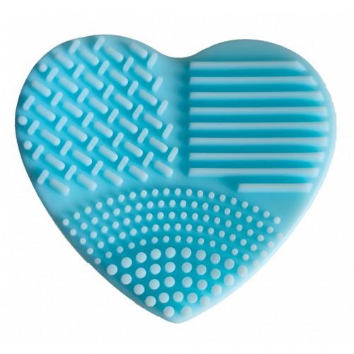 Coeur silicone pour nettoyer les pinceaux