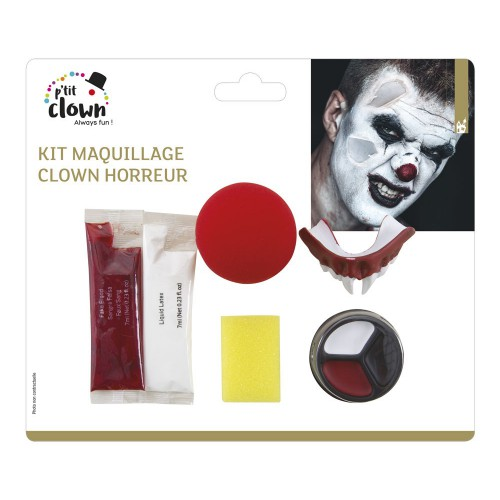 Kit maquillage clown tueur