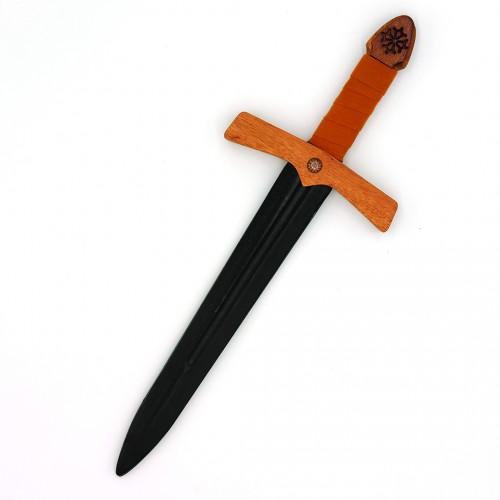 Dague historique occitane en bois