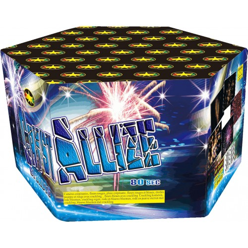 Feu d'artifice Crystallize 61 coups
