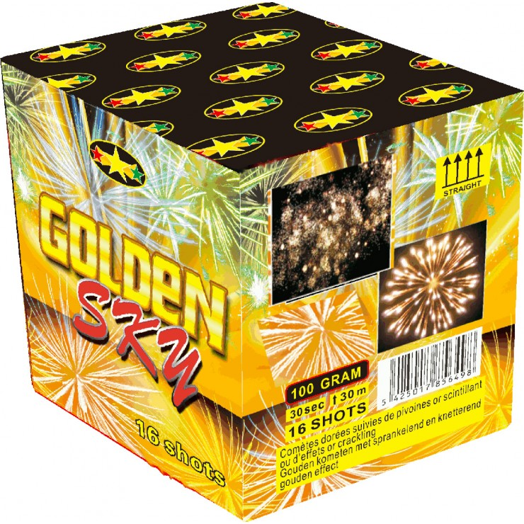 Compact golden sky 16 coups