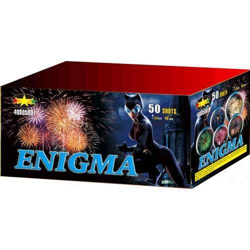 Feu d'artifice Enigma 50 coups