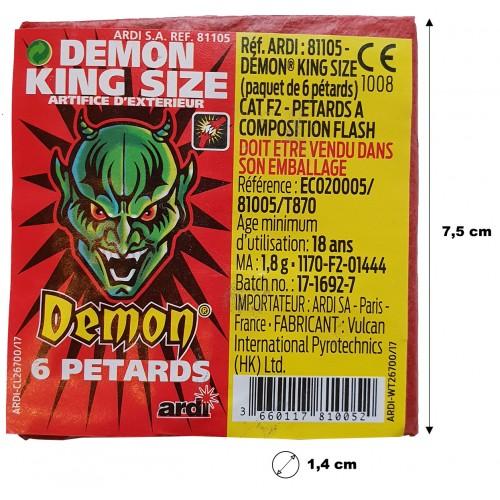Pétard démon king size x6