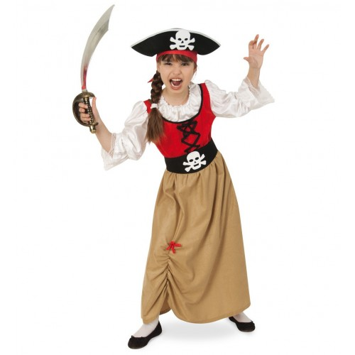 Costume fille pirate