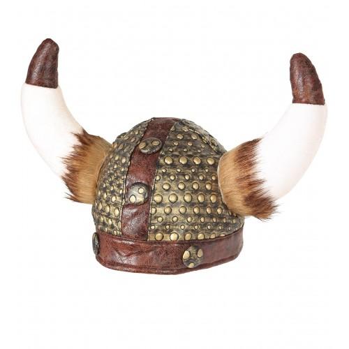 Casque de Viking avec fourrure