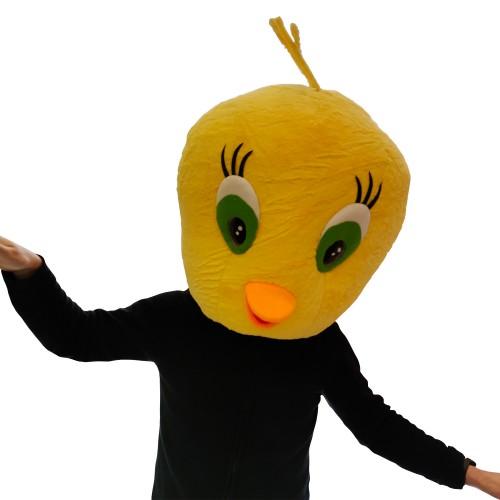Tête mascotte poussin