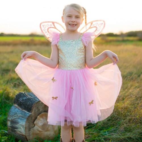 Robe de papillon avec ailes