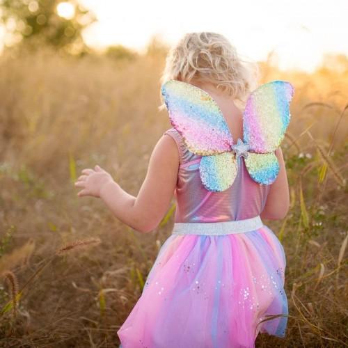 Set papillon arc en ciel