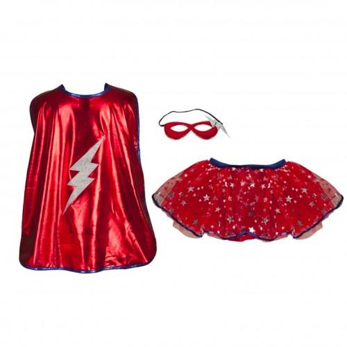 Set super héroïne rouge