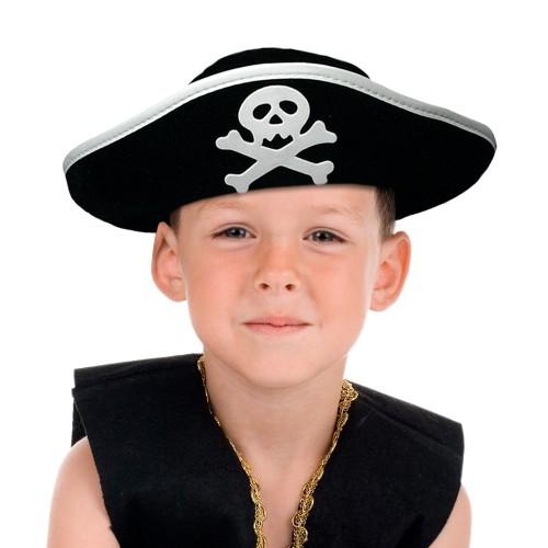 Chapeau de pirate enfant