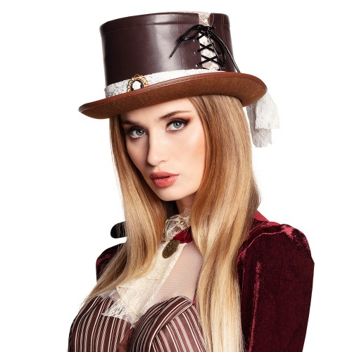 Chapeau mariée steampunk