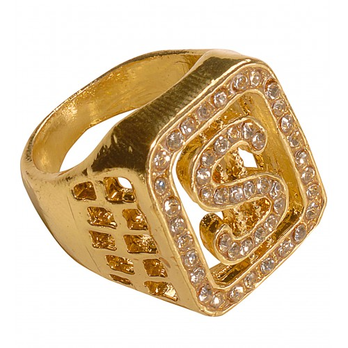 Bague dollar bling bling
