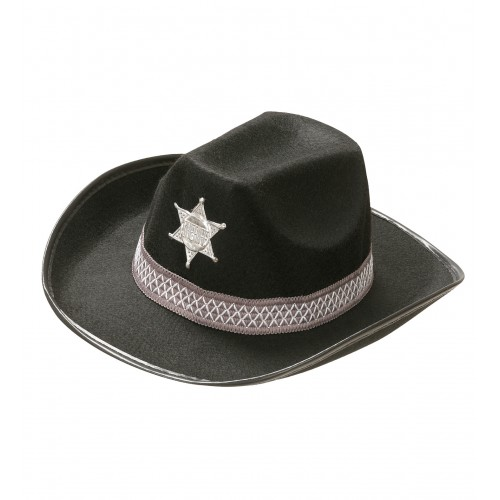 Chapeau shérif John adulte