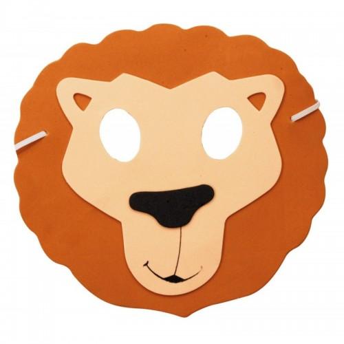 Masque lion enfant eva