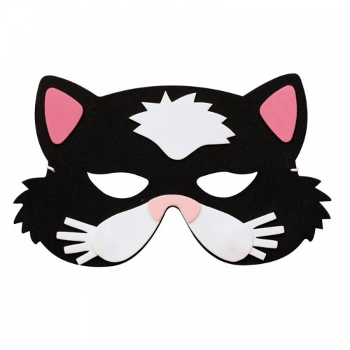 Masque chat enfant eva