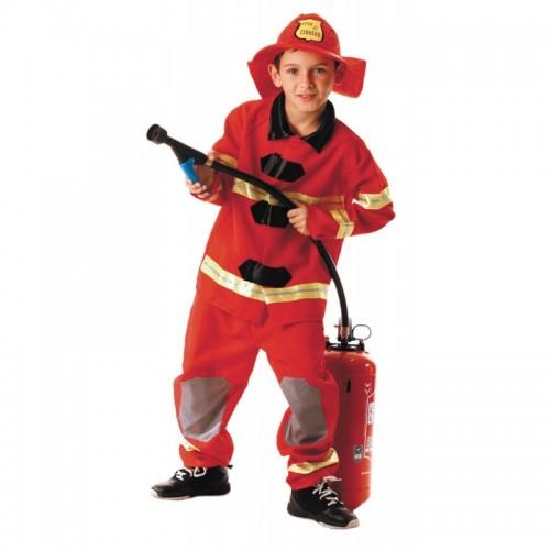 Déguisement pompier Américain pour enfant