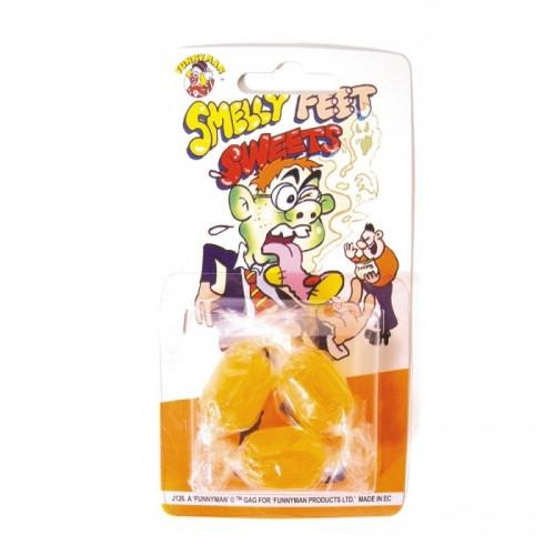 Bonbons goût pieds