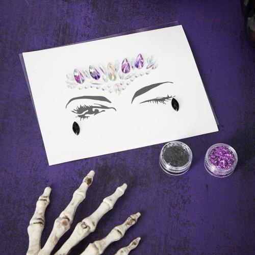 Kit maquillage Halloween gemmes et paillettes