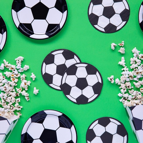 Serviettes ballon de foot