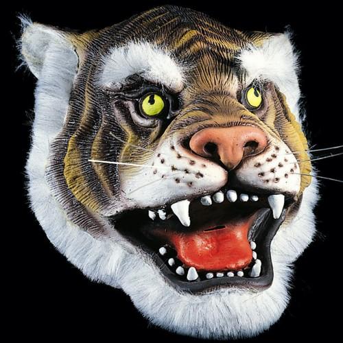 Masque tigre latex