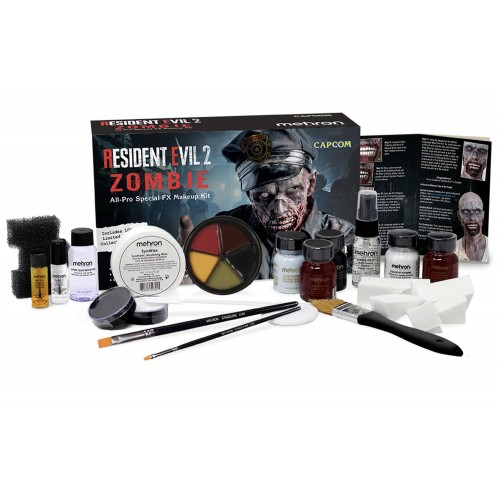 Kit maquillage zombie resident evil 2