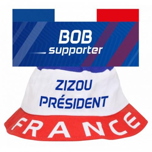 Bob tricolore Zizou président