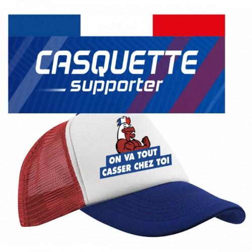 Casquette supporter Français