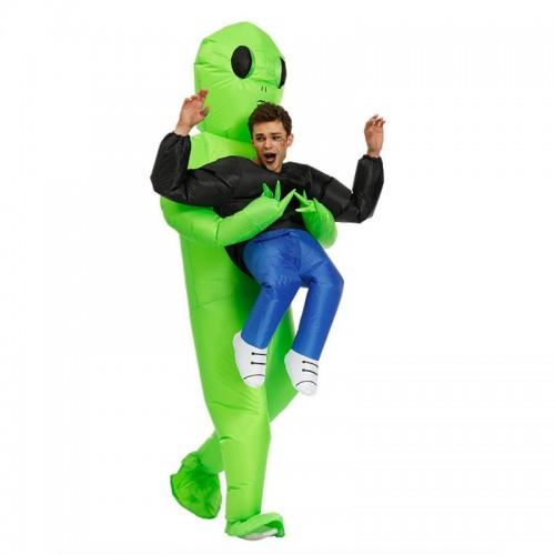 Déguisement gonflable alien