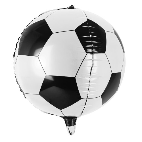 Ballon de foot en mylar 40 cm