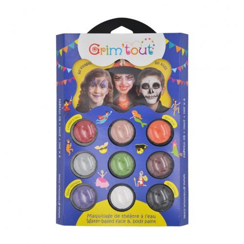 Palette maquillage Grim'tout Halloween