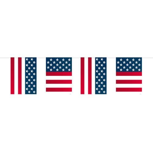 Guirlande fanions USA