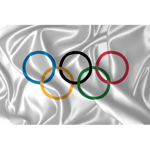 Drapeau jeux Olympiques