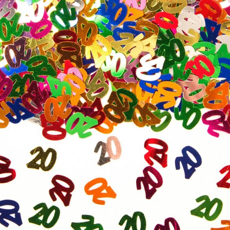 Confettis de table 20